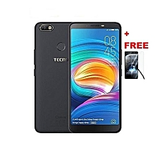 "Camon X - 6.0"" - 16GB - 3GB RAM - 16MP Camera - (Dual SIM) - Midnight Black + FREE GLASS PROTECTOR"