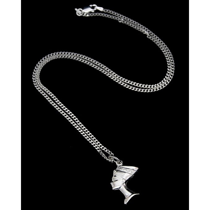 b5191c3a2990a3 FEDERICA Classic Pure Silver Chain with a Queens Pendant @ Best ...