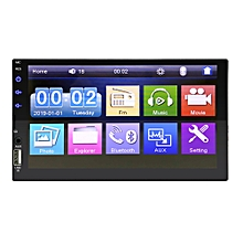 """2 DIN 7"""" Car Stereo Radio MP5 MP3 Player Touch Screen Bluetooth HD USB In Dash"""