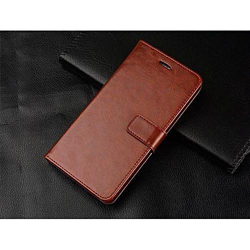 design senza tempo e7516 841e2 Leather Flip Cover Wallet Cover Case For Huawei Mate 8