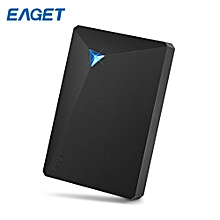 EAGET G20 HDD USB 3.0 External Hard Disk Drive Electronics Storage Device BLACK 3TB