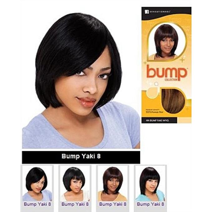 Buy Sensationnel Bump Collection Human Hair Weaving Yaki 8 Inch