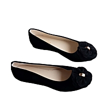 Flat Women's Black Shoes