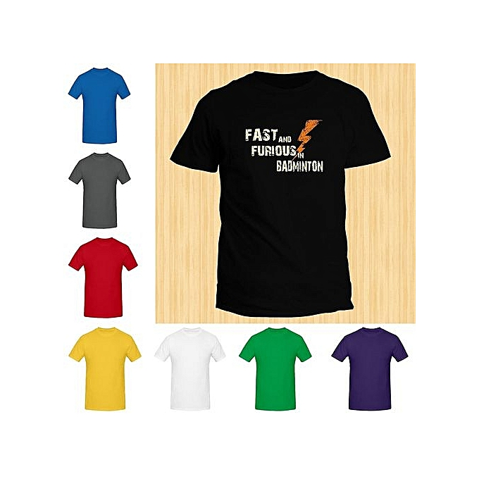 5f288112 Fast And Furious Men's Casual Printing Short-sleeved Tide Men Running  Fitness T-shirt