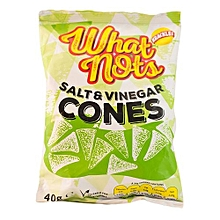 What Nots Salt & Vinegar Cones - 40g