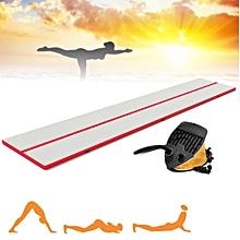 "5'x29.5'x4"" Inflatable Air Tumbling Track Gymnastics Mats Training Board Fitness"