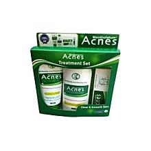 Acne Treatment Set -Mentholatum Acnes
