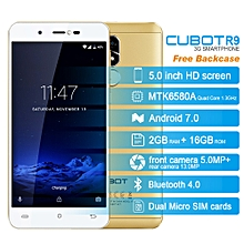 """R9 5.0"""" 2GB RAM + 16GB ROM Android 7.0 Fingerprint Scanner - Golden"""