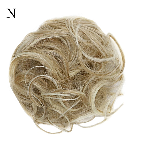 f684d20a9f Zlime Women's Curly Messy Bun Hair Twirl Piece Scrunchie Wigs Extensions  Hairdressing