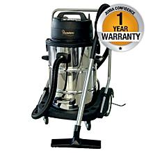 RM/166 - Industrial Wet/Dry Vacuum Cleaner - Silver & Black