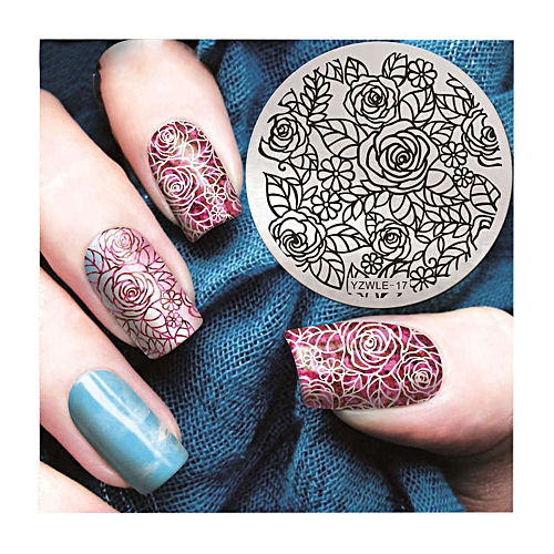 Buy Generic Nail Art Printing Plate Image Stamping Plates Manicure