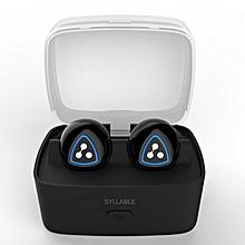D900S Sports Wireless Bluetooth 4.0 Headphone IPX4 Waterproof Earbud(Black)