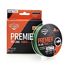 Proberos Strong 300M 8 Strand Weave PE Braided Fishing Line-GREEN