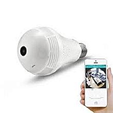 WiFi Panorama Camera (CCTV Bulb) B2-R - White