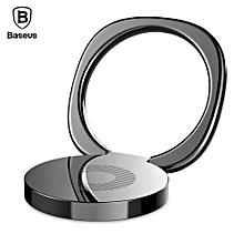 Baseus Privity Ring Bracket Finger Grip Phone Desktop Holder (Black)