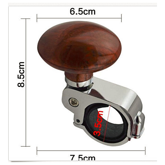 Electric Vehicle Parts Learned 1pc Car Steering Wheel Spinner Knob Auxiliary Booster Aid Handle Knob Accessary