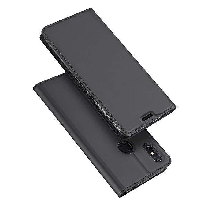 Xiaomi Mi Max 3 Leather Case, Pu Leather Flip Wallet Case Cover For Xiaomi Mi