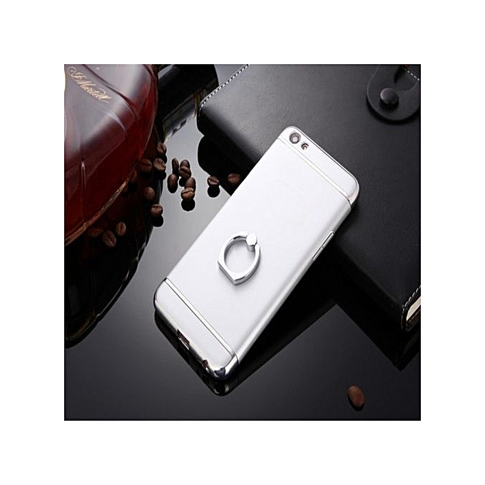3 In 1 PC Protective Back Cover Case With Metal Ring For OPPO .