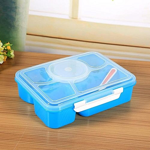 Generic Lunch Box Spoon Utensils Picnic Food Storage Container
