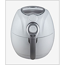 Oil Free Cooking Air Fryer with 3.5L Non-Sticker Coating Basket and 4L Non-Sticker Cooking Pan