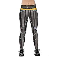 All-matchWomen New Fashion Sport Leggings Wonder Woman Printed Joggings Pants Size: S-XL
