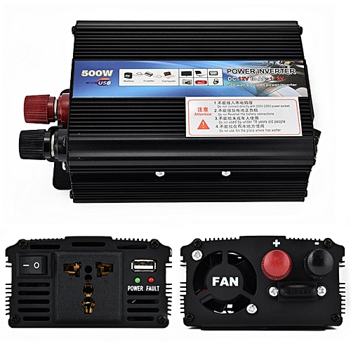 XUYUAN Car Inverter DC 12V 50Hz Auto Inverter 500W Solar Power Inverter