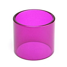 6 Color Replacement Transparent Pyrex Glass Tube Tank Sleeve For TFV8 Baby Beast Purple