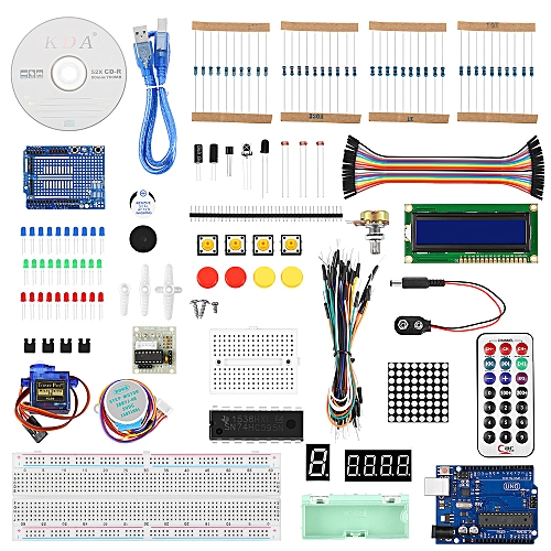 R3 Project Starter Kit Beginner For Arduino - White