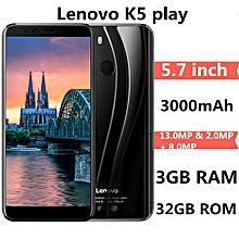 Lenovo K5 play 4G Phablet 5.7 inch Android O MSM8937 Octa Core 3GB RAM 32GB ROM