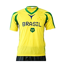 Jersey Football Brazil- Fwc401b Yellow- L
