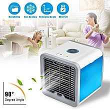 Mini Summer Arctic Space Air Cooler USB LED Cooling Air-conditioner Home Office