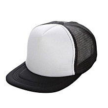 Unisex Mesh Baseball Cap Hat Blank Visor Hat Adjustable WH