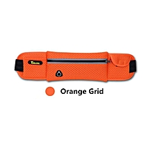 CAMTOA Outdoor Sports Waist Bag Multifunction Cycling Running Antitheft Invisible Belt Bag Close-fitting Casual Ventilated Waist Pack Orange
