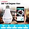 1080P New design Nanny Camera CCTV 360 Bulb with Night Vision
