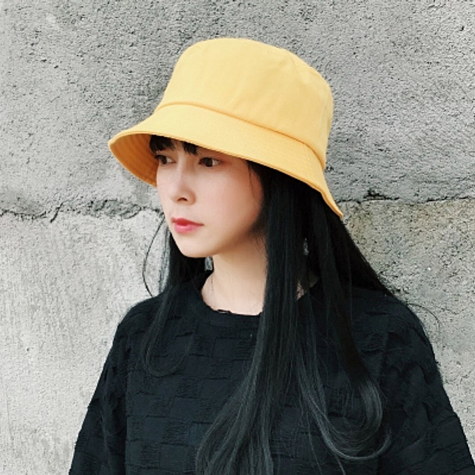 ... men and women summer tide basin the hat creativity birthday gift ·  1Light plank yellow one sideHan Ban Bai takes Japanese-style in summer  yellow two- 7400cfe50edb