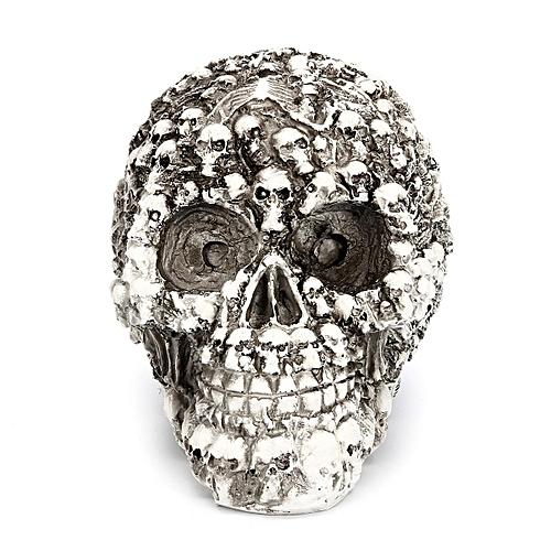 Generic Multiple Skulls Head Dark Fantasy Horror Gothic Skull Ornament Decoration Gifts