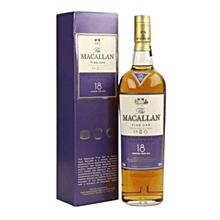 18 Years Fine Oak Single Malt whisky - 750ml
