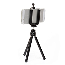 360° Black Rotatable Smartphone Camera Tripod Stand Holder for Iphone Samsung