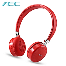 BQ668 Wireless Stereo Bluetooth 4.1 On-ear Headphones - Red