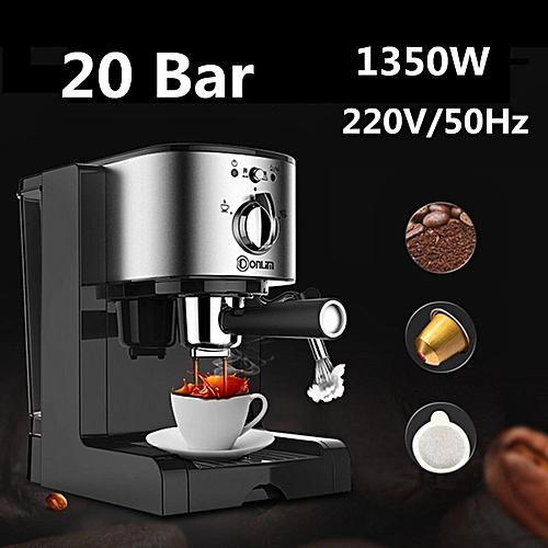 Dl Kf500 Semi Automatic Home Coffee Maker Barista Espresso Machine Milk Steamer
