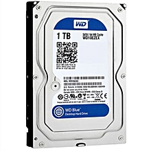 WD Blue 1TB SATA 6 Gb/s 7200rpm 64M Hard Disk -Blue