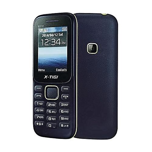 B310 Feature Phone- Dual SIM- 1000mAh Battery- Blue Green