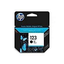 123 BLACK HP CARTRIDGE toner suitable for any machine