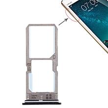 SIM Card Tray + SIM Card Tray / Micro SD Card Tray for Vivo Y67 (Black)