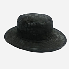 New Arrival Army Fanatic Outdoor Fisherman Hat Mountain-climbing CS Camouflage Sun Hat-12