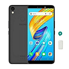 Spark 2 - 16GB, 1GB RAM, 13MP + 8MP Camera , Face ID ,FingerPrint (Dual SIM), Midight Black + Free Protective Case