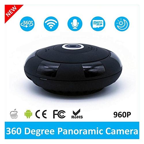 2017 Newest Mini Wireless 360 Degree 960P Panoramic WIFI IP Security Camera  Fisheye with IR Night Vision TXSHOP