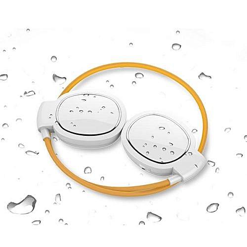 Wireless Bluetooth Headset, Mini Level Wireless Bluetooth Headset  Waterproof Headphone(White)