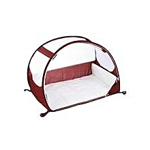 Pop-up Travel Bubble Cot - Aubergine