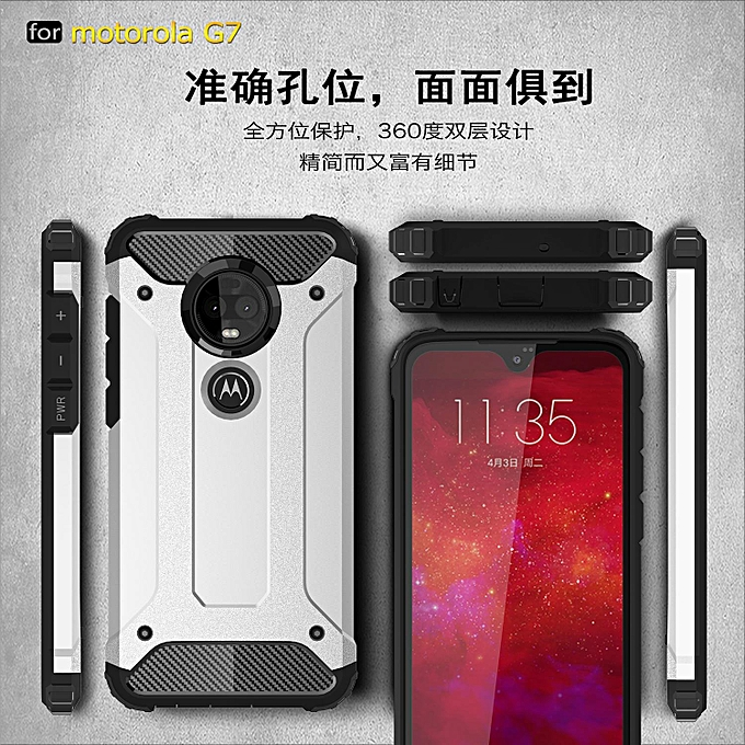 huge discount 1ae05 53109 Shockproof Protection Phone Case For MOTOROLA MOTO M Full Cover Armor Shell  Case